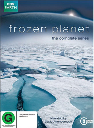 Frozen Planet - The Complete Series on DVD image