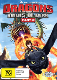 Dragons: Riders of Berk - Part 2 on DVD