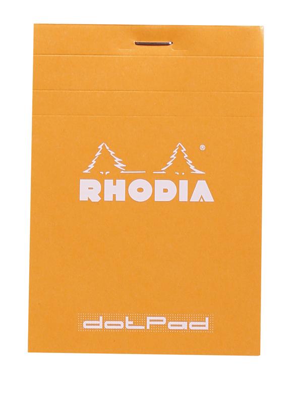 Bloc Rhodia Dot Pad (Orange)