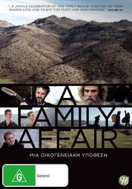 A Family Affair on DVD image