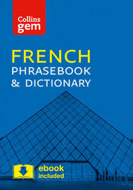 Collins French Phrasebook and Dictionary Gem Edition by Collins Dictionaries image