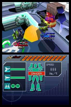 Custom Robo Arena for Nintendo DS image