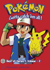 Pokemon - Series 1 - Vol 2 on DVD
