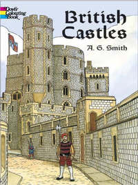 British Castles Coloring Book by Albert G. Smith image