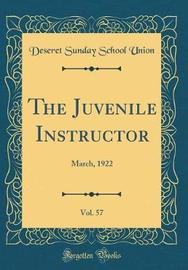 The Juvenile Instructor, Vol. 57 by Deseret Sunday School Union image