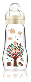 MAM Feel Good Glass Bottle 260ml - Neutral