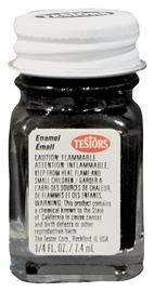 Testors: Enamel Paint - Flat Black image
