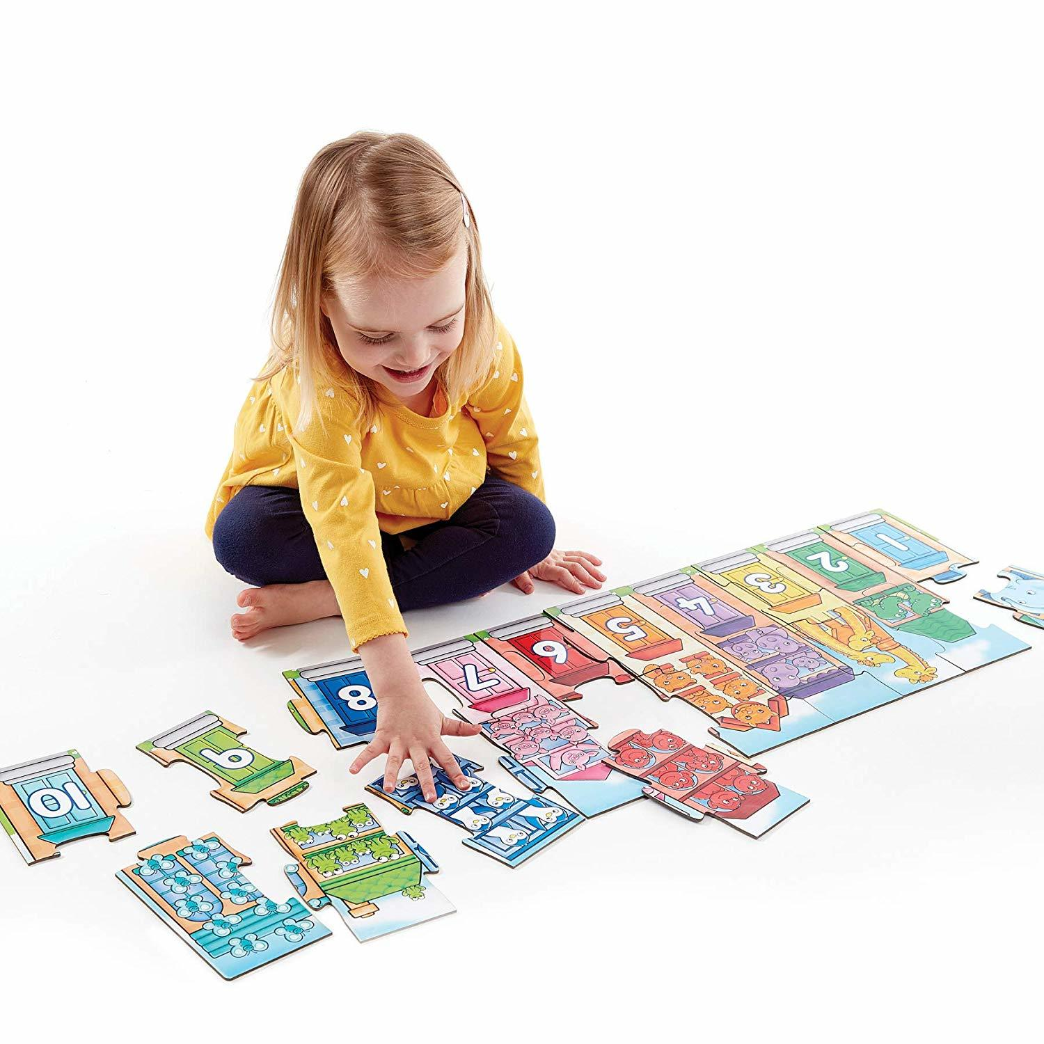 Orchard Toys: Number Street - Jigsaw Puzzle Set image