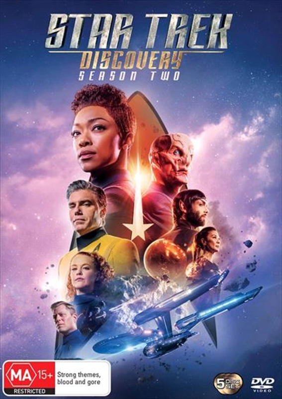 Star Trek Discovery: Season 2 on DVD