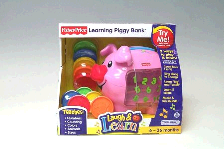 Fisher Price Laugh & Learn Piggy Bank image