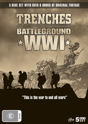 Trenches - Battleground WWI (5 Disc Box Set) on DVD