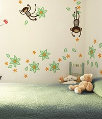 Wee Gallery Mango Tree Monkey Graphics