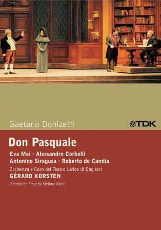 Donizetti: Don Pasquale on DVD