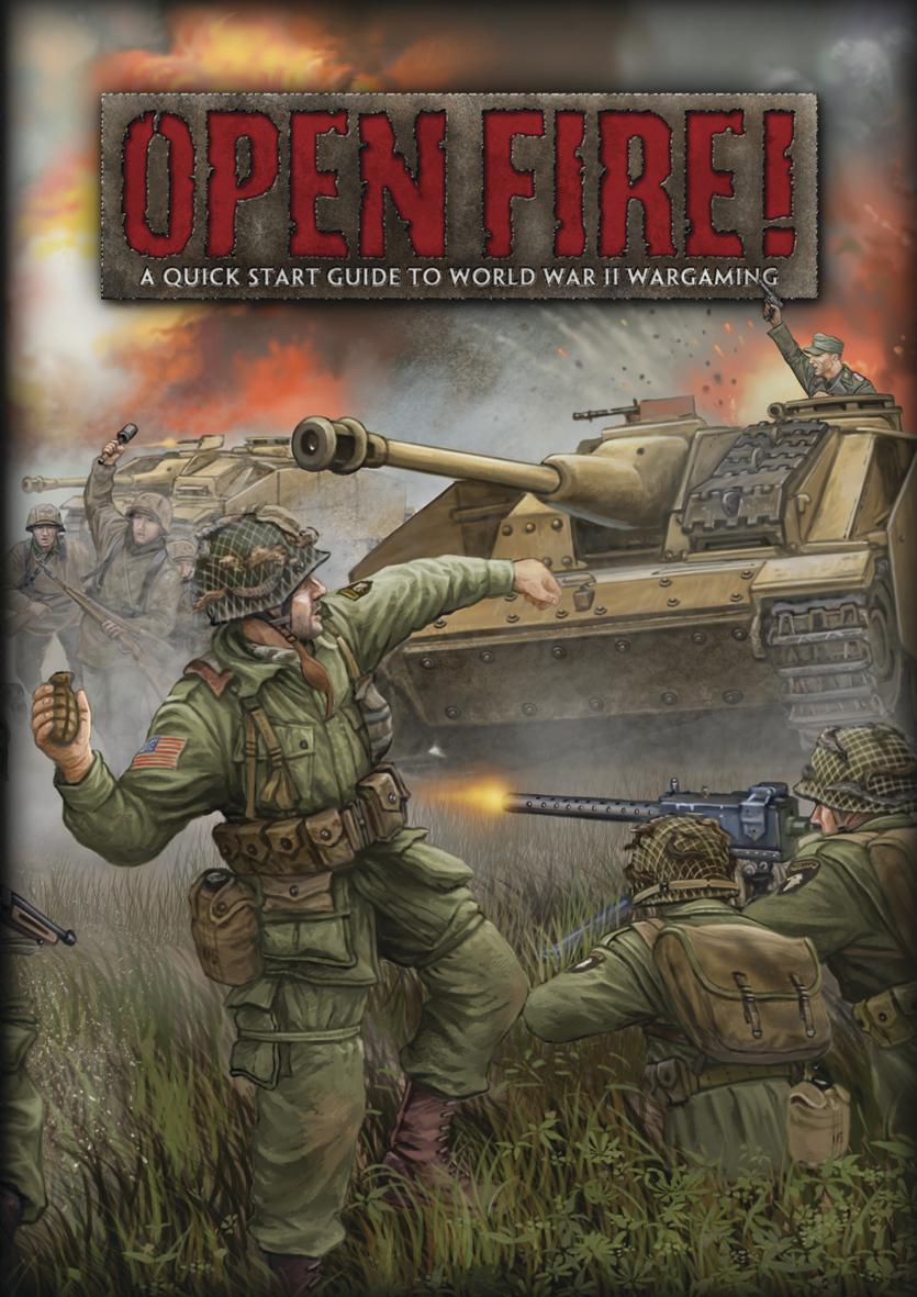 Flames of War: Open Fire! Starter Set image