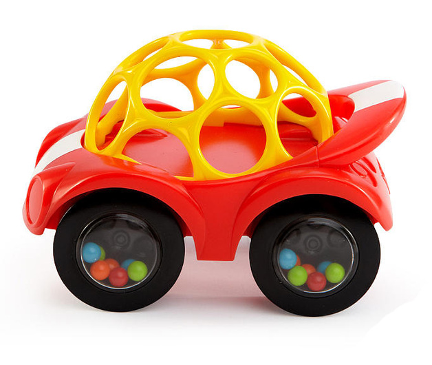 Oball: Rattle and Roll Car - Red