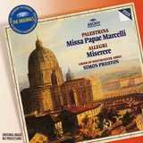 Palestrina: Missa Papae Marcelli, Tu es Petrus, Allegri: Miserere & works by Anerio, Nanino & Giovannelli