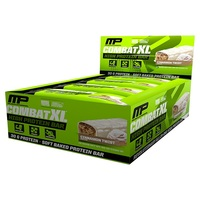 MusclePharm Combat XL Protein Bars - Cinnamon Twist (12x90g)