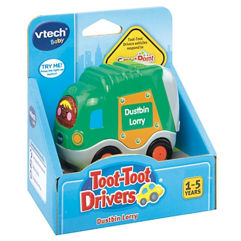 VTech: Toot Toot Drivers - Dustbin Lorry image