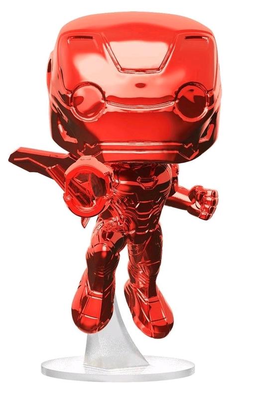 Avengers: Infinity War - Iron Man (Red Chrome) Pop! Vinyl Figure