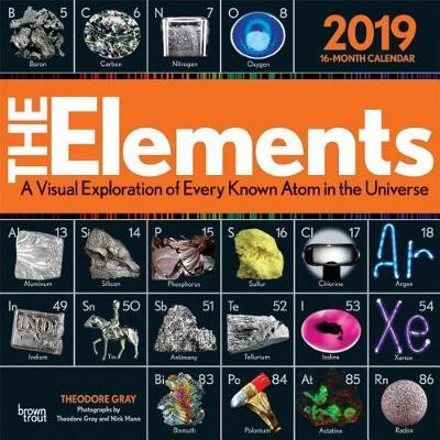Elements, the 2019 Square Wall Calendar by Inc Browntrout Publishers