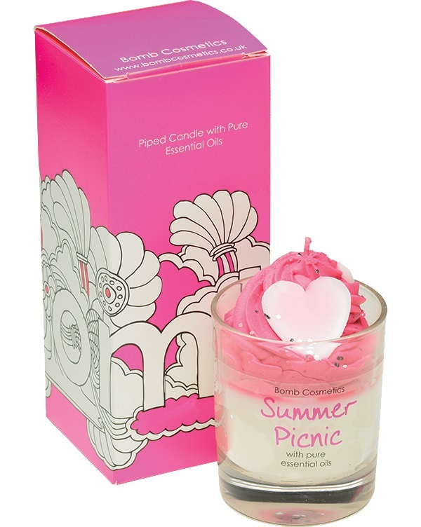 Bomb Cosmetics Piped Candle - Summer Picnic