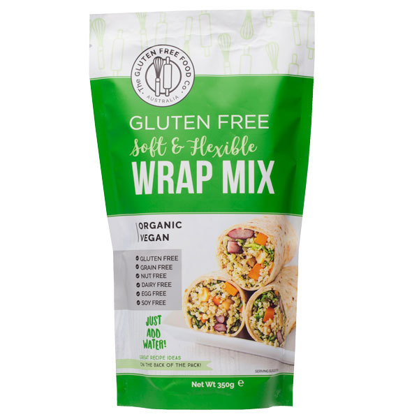 Gluten Free Wrap Mix (350g)