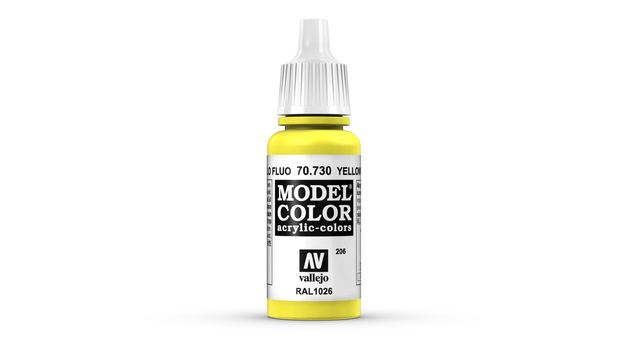 Vallejo Model Colour Yellow Fluorescent 17ml