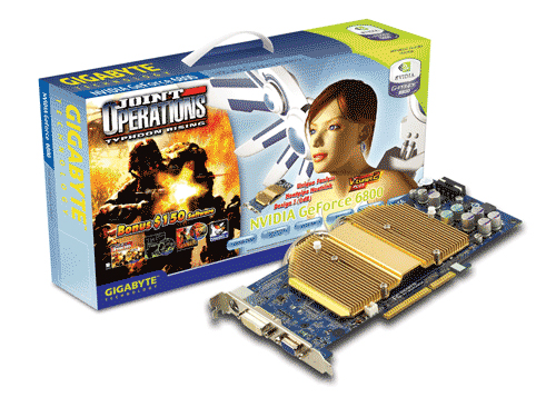 Gigabyte Graphics Card NVIDIA GeForce 6800 128M AGP image