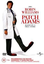 Patch Adams on DVD image