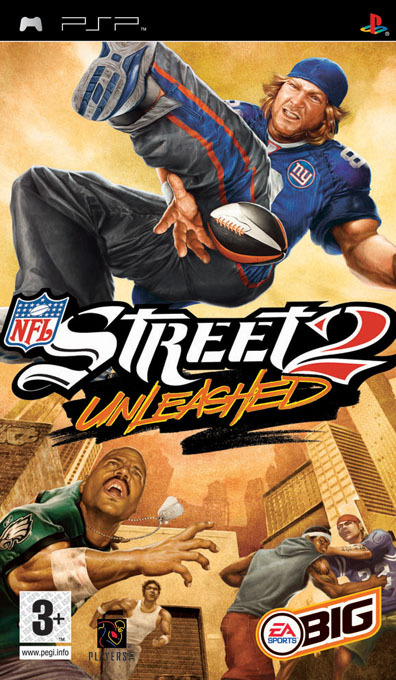 NFL Street 2: Unleashed for PSP