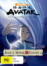 Avatar: The Legend of Aang - Book 1: Water - Volume 2 on DVD