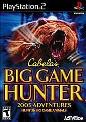 Cabela's Big Game Hunter 2005 for PlayStation 2