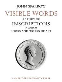 Visible Words by John Sparrow