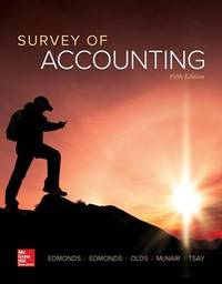 Survey of Accounting by Thomas P Edmonds