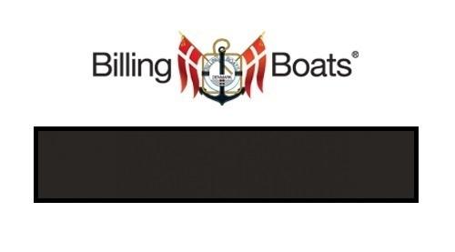 Billing Boats: Acrylic Paint - Flat Black (22ml)