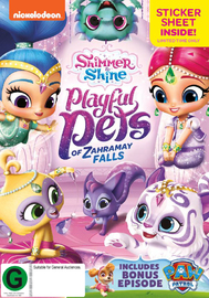 Shimmer & Shine: Playful Pets of Zahramay Falls on DVD