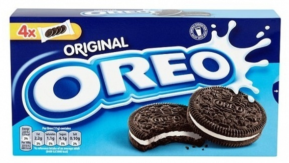 Cadbury Oreo Cookies 176g image