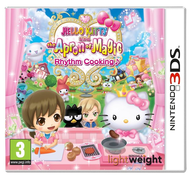Hello Kitty and The Apron of Magic Rhythm Cooking for 3DS