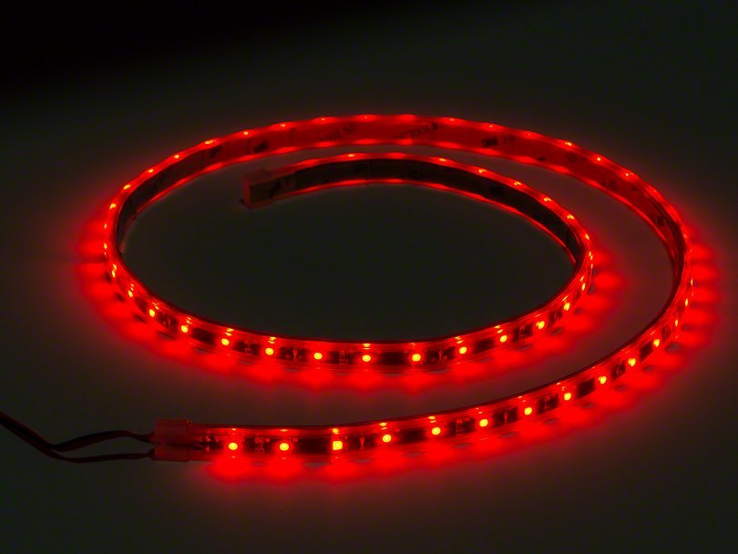 Red - LED magnetic strip 40cm image