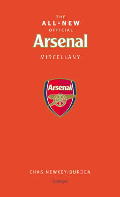 The Official Arsenal Miscellany by Dan Brennan image