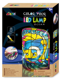 Avenir: Colour Your Own LED Lamp - Ocean