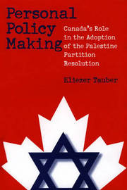 Personal Policy Making by Eliezer Tauber