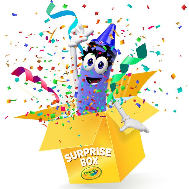Crayola: Surprise Box