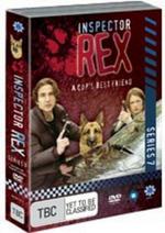 Inspector Rex - Series 7 (4 Disc Box Set) on DVD