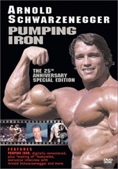 Pumping Iron: 25th Anniversary Edition on DVD