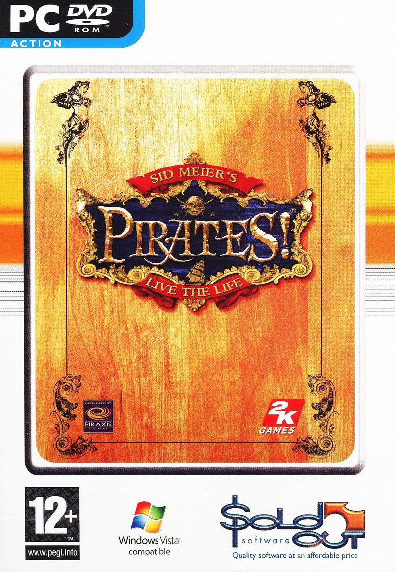 Sid Meier's Pirates! for PC image
