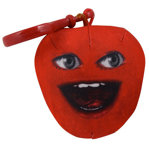 Annoying Orange Talking Plush Keyring / Clip-on - Midget Apple image