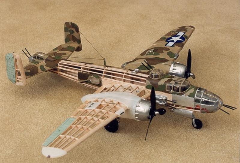 B-25 Mitchell 1:32 Balsa Model Kit image
