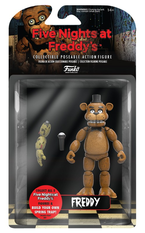 "Five Nights at Freddy's - Freddy 5"" Vinyl Figure"