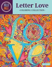 Hello Angel Letter Love Coloring Collection by Angelea Van Dam